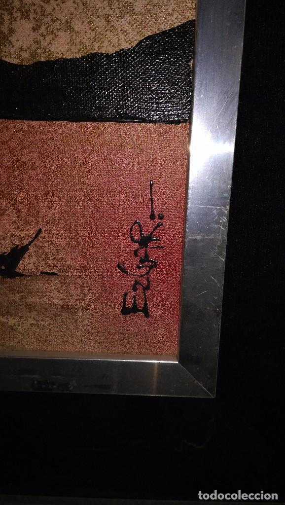 Arte: Cuadro Jesucristo crucificado con relieves. Acrílico y otros materiales. Firma: Ezgar - Foto 2 - 108309931