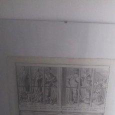 Arte: GRABADO ORIGINAL JACOB FOLKEMA. 1750/1799. Lote 108449731