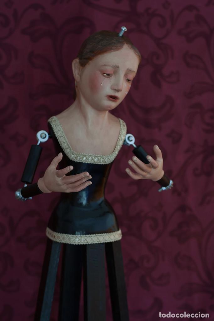 Arte: Virgen Dolorosa de 70 ctm de candelero - Foto 8 - 108811363