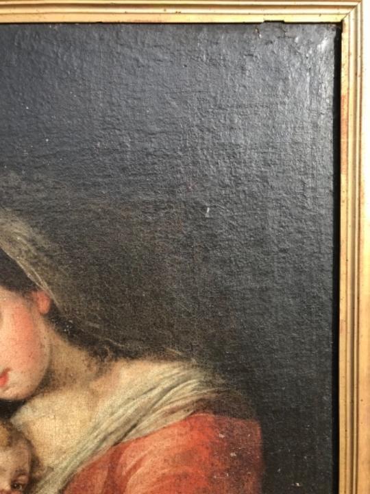 Arte: La Virgen y el niño.SXVII. - Foto 10 - 58211207