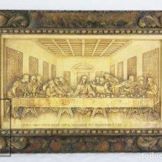 Arte: ANTIGUO RELIEVE RELIGIOSO EN ESTUCO - LA ÚLTIMA CENA - ESTEVA Y CÍA., PRINCIPIOS SIGLO XX. Lote 108887135