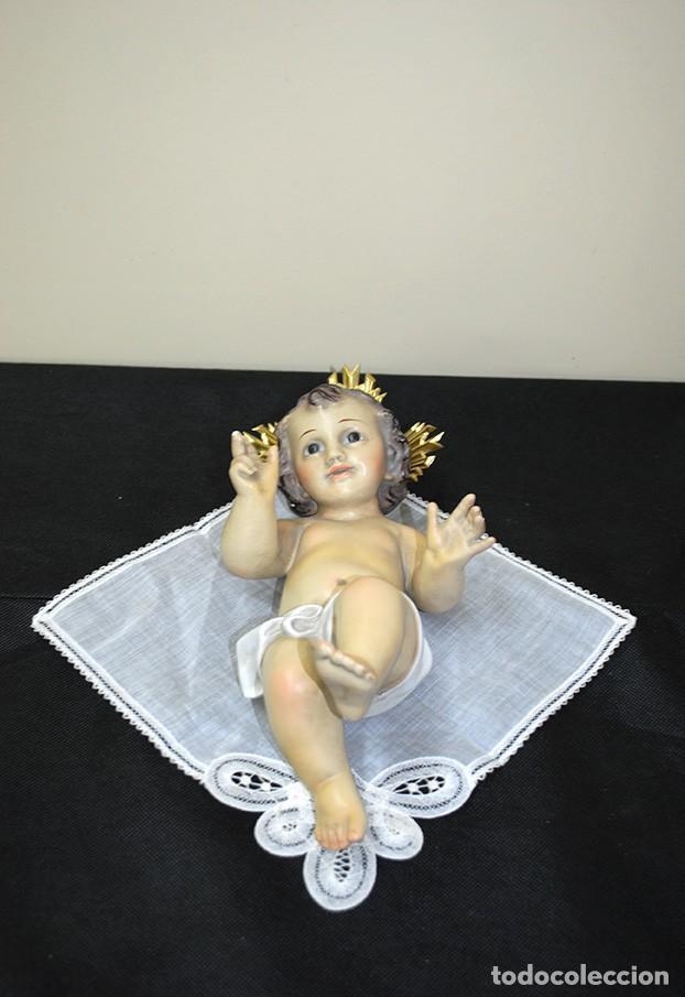 FIGURA RELIGIOSA NIÑO JESÚS DE ESCAYOLA / ESTUCO (Arte - Arte Religioso - Escultura)