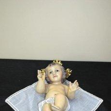 Arte: FIGURA RELIGIOSA NIÑO JESÚS DE ESCAYOLA / ESTUCO . Lote 108915743