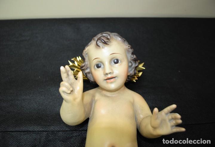 Arte: FIGURA RELIGIOSA NIÑO JESÚS DE ESCAYOLA / ESTUCO - Foto 3 - 108915743