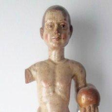 Arte - Niño Jesús de la bola. Talla del siglo XVII-XVIII. - 108995063