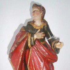 Arte: TALLA DE ESCUELA CASTELLANA DEL SIGLO XVII -XVIII. Lote 108995671