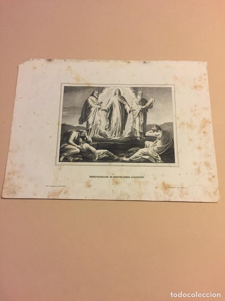 LITOGRAFÍA SIGLO XIX (Arte - Arte Religioso - Litografías)