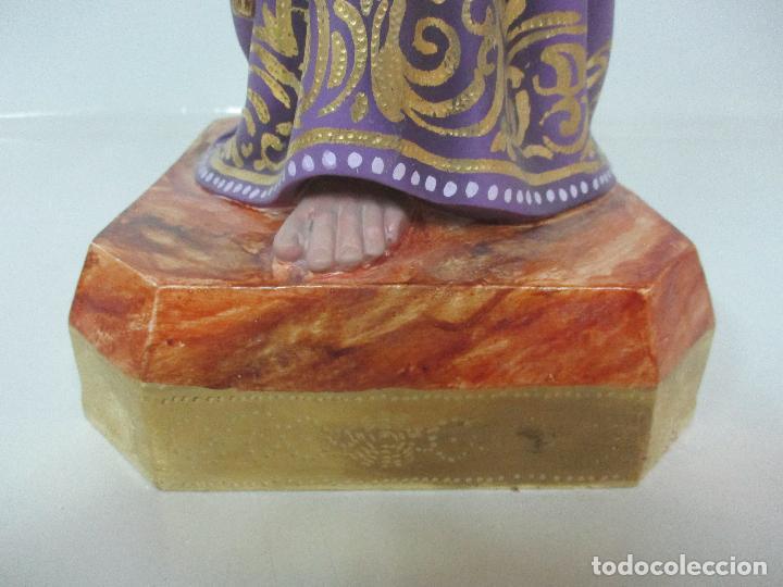 Arte: Precioso Cristo Nazareno - Estuco Policromado - 58 cm Altura - Talleres de Olot - Foto 5 - 109524063