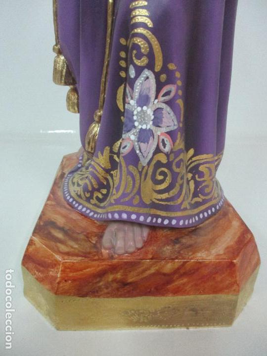 Arte: Precioso Cristo Nazareno - Estuco Policromado - 58 cm Altura - Talleres de Olot - Foto 7 - 109524063