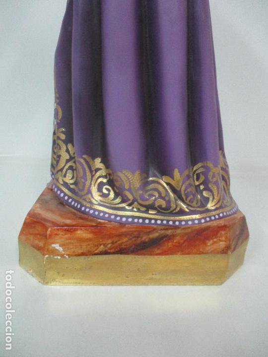 Arte: Precioso Cristo Nazareno - Estuco Policromado - 58 cm Altura - Talleres de Olot - Foto 12 - 109524063
