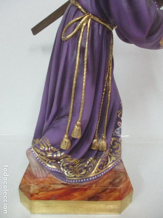 Arte: Precioso Cristo Nazareno - Estuco Policromado - 58 cm Altura - Talleres de Olot - Foto 20 - 109524063