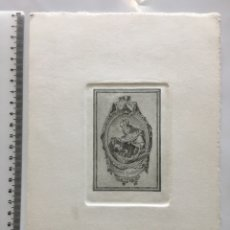 Arte: GRABADO FINALES S. XIX. N. S. DEL CARMEN.. Lote 109817806
