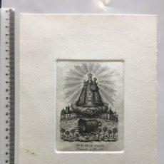 Arte: GRABADO FINALES S. XIX. NA. SA. DE LA SALUD. VENERADA EN CHIRIBELLA. XIRIVELLA (VALENCIA).. Lote 109819686