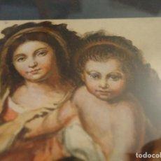 Arte: MINIATURA, VIRGEN DE LA SERVILLETA PINTADA POR JOSÉ TOVA VILLALVA. OLEO SOBRE CARTÓN. 1901. Lote 109825019