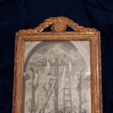 Arte: GRABADO DE LA PIEDAD DEL RETABLO DE PEDRO ROLDAN IGLESIA DEL SAGRARIO DE LA CATEDRAL DE SEVILLA. Lote 110155867
