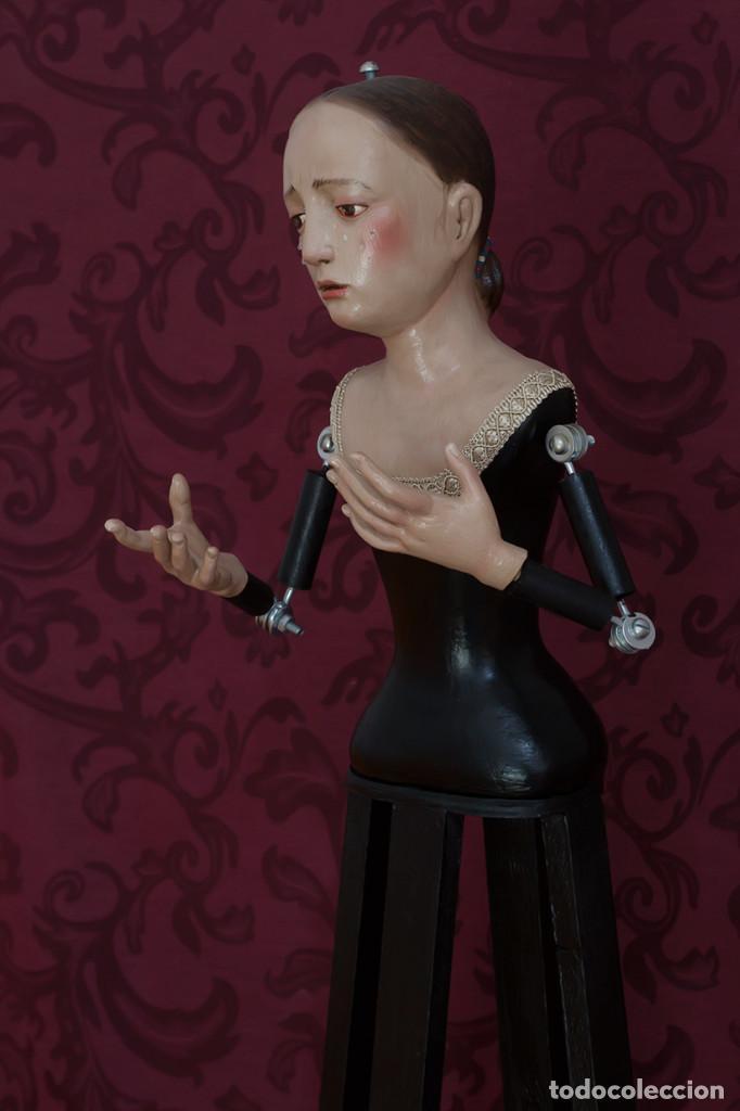 Arte: Virgen Dolorosa de 75 ctm de candelero - Foto 6 - 110333803