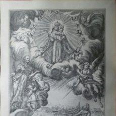 Arte: GRABADO DE NUESTRA SEÑORA DE LA MISERICORDIA, VENERADA EN REUS. TORRELL DE REUS.. Lote 110403935