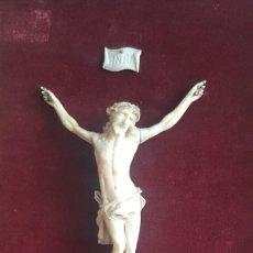 Art - Magnífico Cristo de marfil mediados siglo XIX. - 110481863