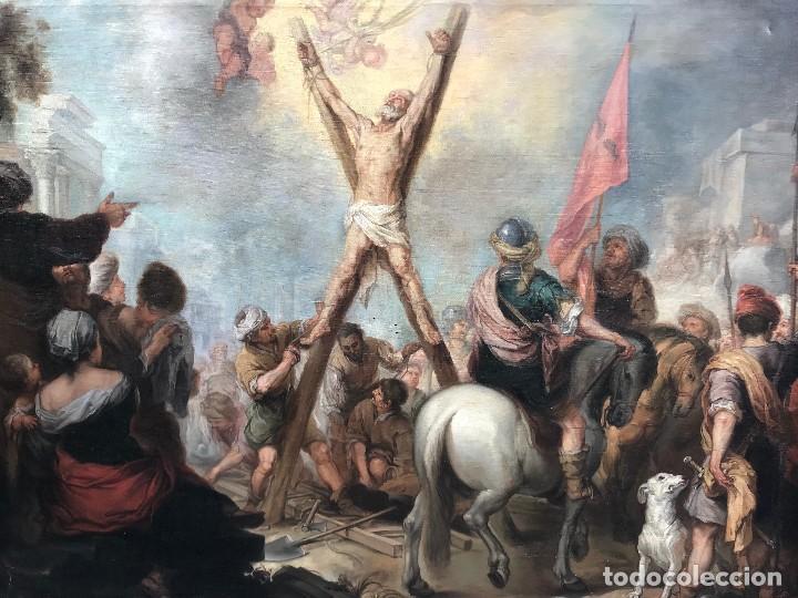 Arte: excepcional martirio de san andres, murillo - Foto 4 - 110557251