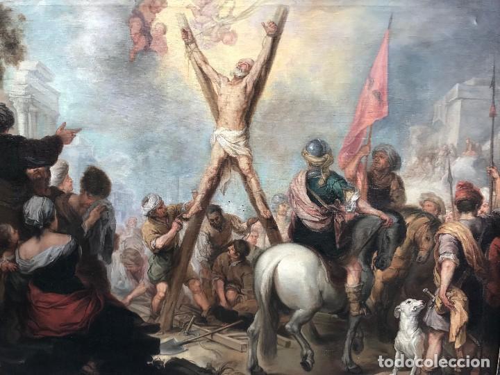Arte: excepcional martirio de san andres, murillo - Foto 5 - 110557251