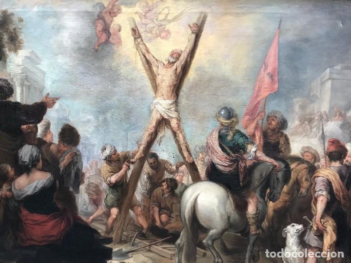 Arte: excepcional martirio de san andres, murillo - Foto 6 - 110557251
