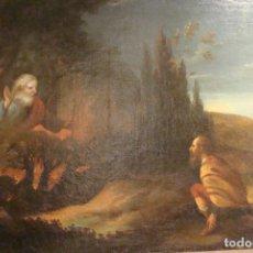 Arte: ÓLEO SOBRE LIENZO - ESCENA BÍBLICA - SIGLO XVII. Lote 110659087