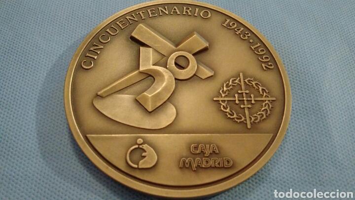 Arte: METOPA DE BRONCE PULIDO, JESÚS EN SU TERCERA CAÍDA, ZAMORA, CINCUENTENARIO 1943-1992 - Foto 3 - 111065243