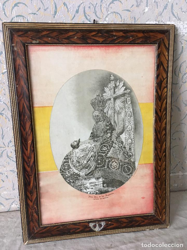 ANTIGUO CUADRO VIRGEN DE LAS ANGUSTIAS. (Arte - Arte Religioso - Pintura Religiosa - Otros)