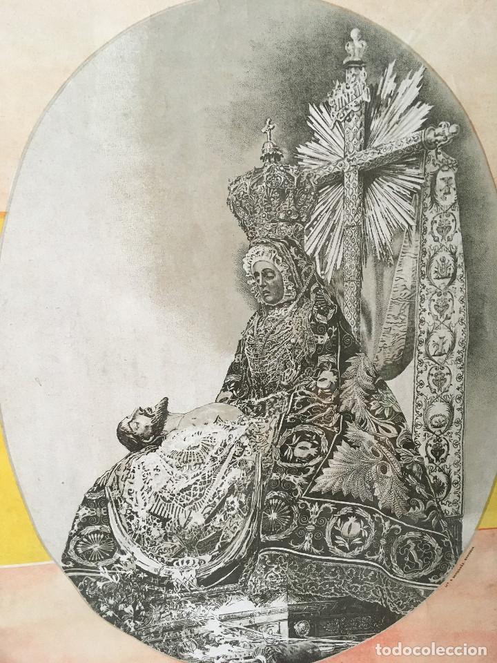 Arte: ANTIGUO CUADRO VIRGEN DE LAS ANGUSTIAS. - Foto 2 - 111213091