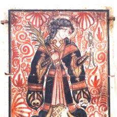 Arte: SOCARRAT VALENCIANO SANTA APOLONIA.. Lote 111442954