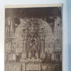 Arte: COCENTAINA. RETABLO DEL ALTAR MAYOR DE STA. MARÍA.. Lote 111516063