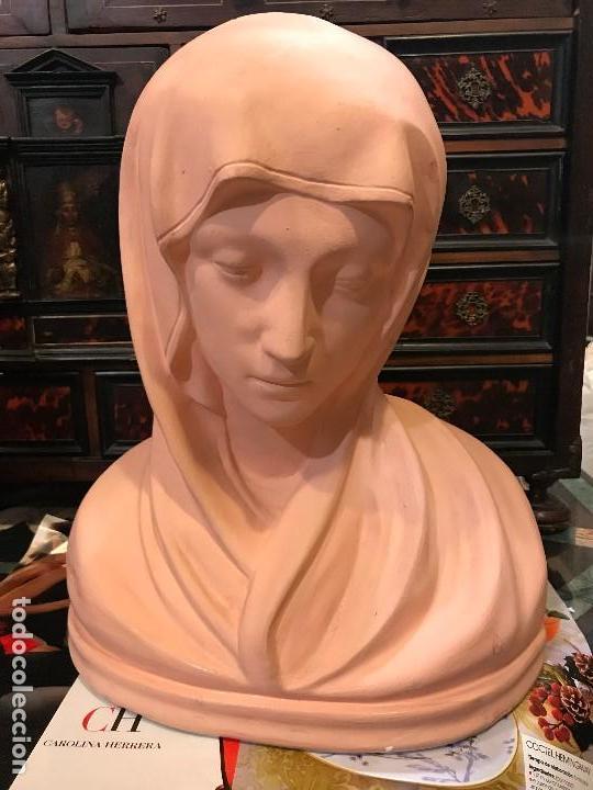 VIRGEN ITALIANA, NEOCLASICA, (Arte - Arte Religioso - Escultura)