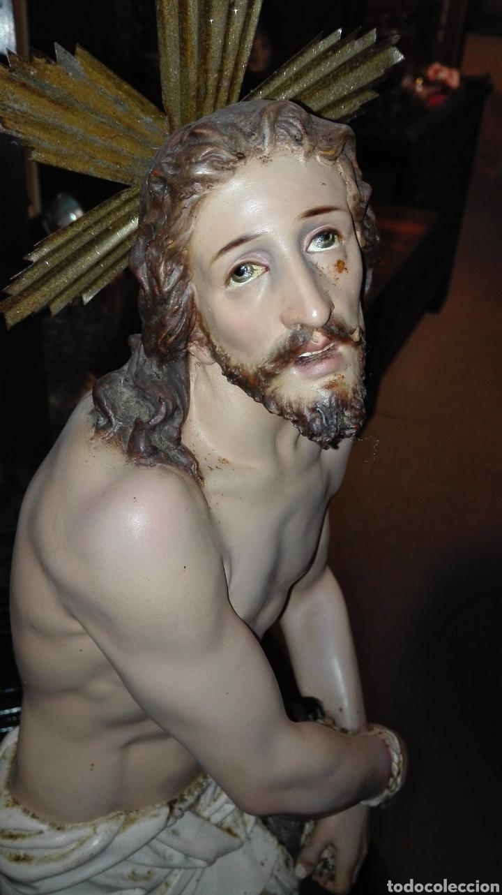 Arte: Preciosa Escultura Cristo Atado a la Columna - Arte Cristiano Olot - - Foto 2 - 111715967