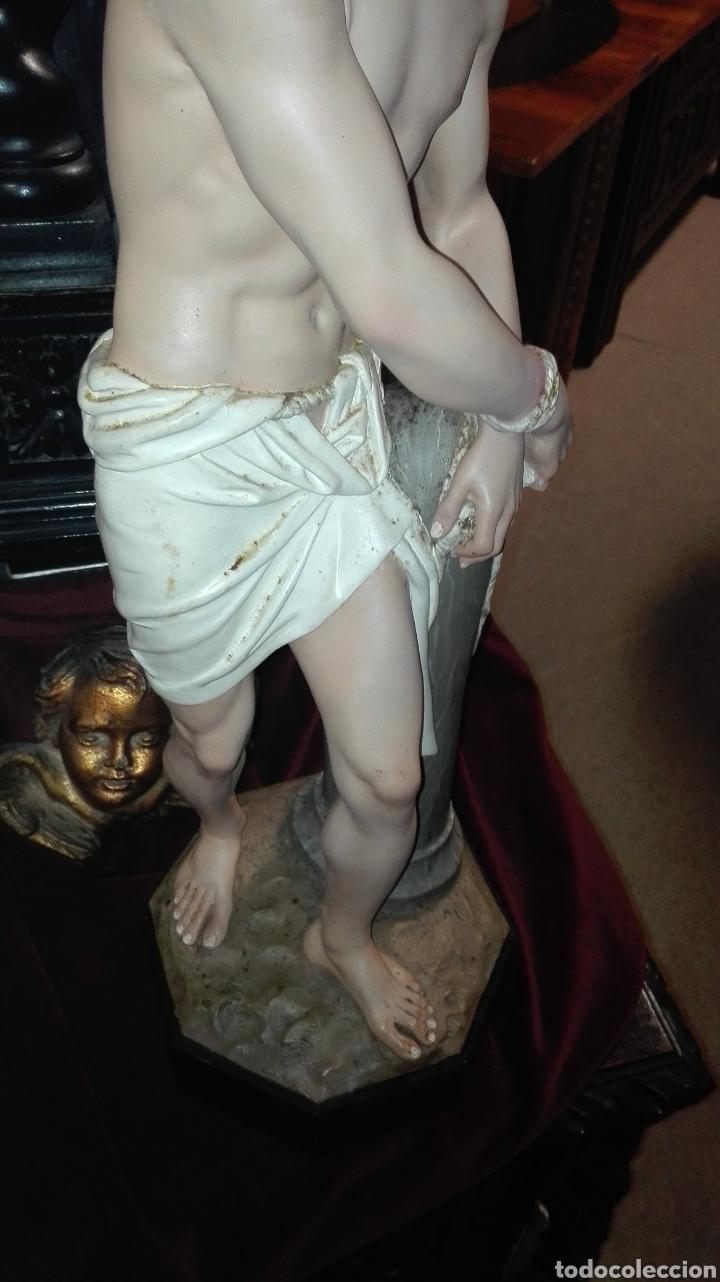 Arte: Preciosa Escultura Cristo Atado a la Columna - Arte Cristiano Olot - - Foto 9 - 111715967