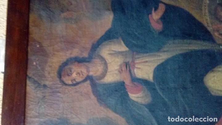 Arte: Escuela española siglo XIX Inmaculada - Foto 2 - 112449939