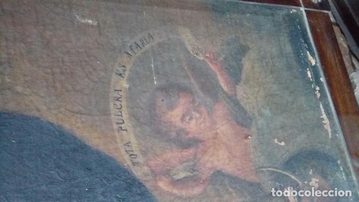 Arte: Escuela española siglo XIX Inmaculada - Foto 3 - 112449939