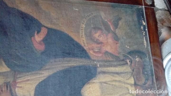 Arte: Escuela española siglo XIX Inmaculada - Foto 4 - 112449939