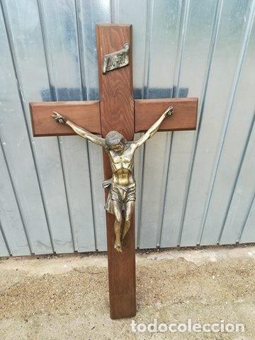 CRUCIFIJO - CRUZ JESUS JESUCRISTO INRI (Arte - Arte Religioso - Escultura)