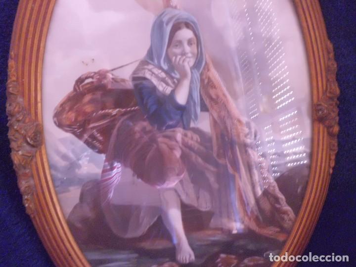 Arte: ACUARELA Y MARCO IMPERIO MAGNIFICA - Foto 2 - 112661647