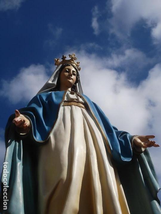 VIRGEN MILAGROSA DE EL ARTE CRISTIANO PASTA DE MADERA GRANDES MEDIDAS (Arte - Arte Religioso - Escultura)