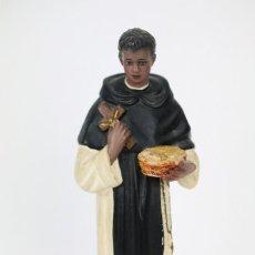 Arte: ESCULTURA / FIGURA DE YESO O ESTUCO - SAN MARTÍN DE PORRES - ALTURA 20 CM. Lote 112888795