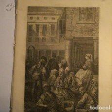 Arte: PRECIOSO GRABADO FRANCES DE VITORIA - GUSTAVO DORÉ - VIAJE POR ESPAÑA -1ª EDICION FRANCESA - . Lote 113125099