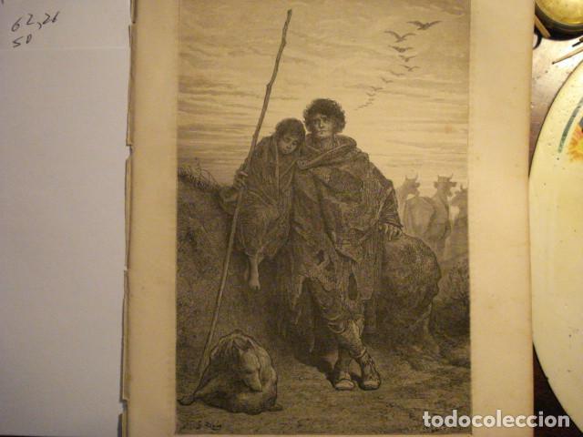 PRECIOSO GRABADO FRANCES DE VITORIA - GUSTAVO DORÉ - VIAJE POR ESPAÑA -1ª EDICION FRANCESA - (Arte - Arte Religioso - Grabados)