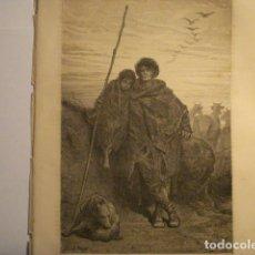 Arte: PRECIOSO GRABADO FRANCES DE VITORIA - GUSTAVO DORÉ - VIAJE POR ESPAÑA -1ª EDICION FRANCESA - . Lote 113125127