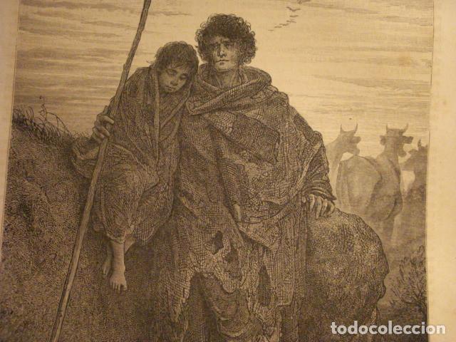 Arte: PRECIOSO GRABADO FRANCES DE VITORIA - GUSTAVO DORÉ - VIAJE POR ESPAÑA -1ª EDICION FRANCESA - - Foto 2 - 113125127