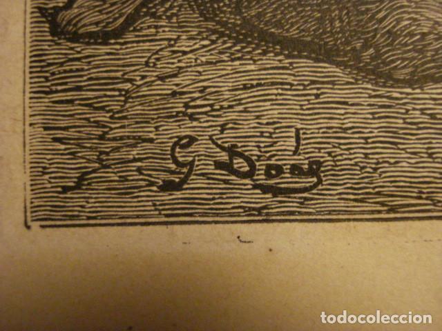 Arte: PRECIOSO GRABADO FRANCES DE VITORIA - GUSTAVO DORÉ - VIAJE POR ESPAÑA -1ª EDICION FRANCESA - - Foto 4 - 113125127
