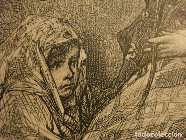 Arte: GRABADO FRANCES DE LECHERA VASCA GUIPUZCOA - GUSTAVO DORÉ -VIAJE POR ESPAÑA -1ª EDICION FRANCESA - - Foto 3 - 113125219