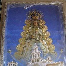 Arte: VIRGEN DEL ROCIO (LITOGRAFIA ENMARCADA) 33X43. Lote 113284647