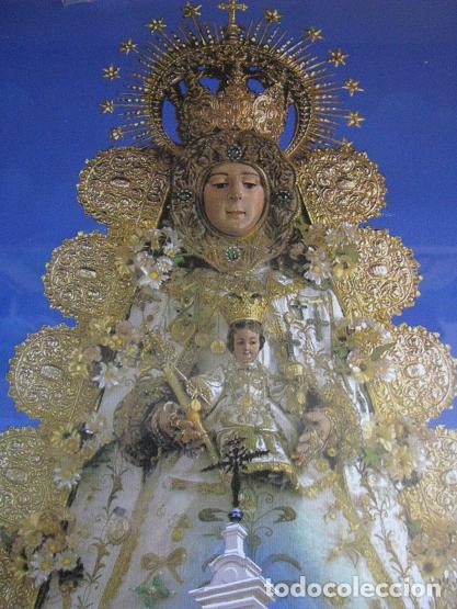 Arte: VIRGEN DEL ROCIO (LITOGRAFIA ENMARCADA) 33X43 - Foto 2 - 113284647