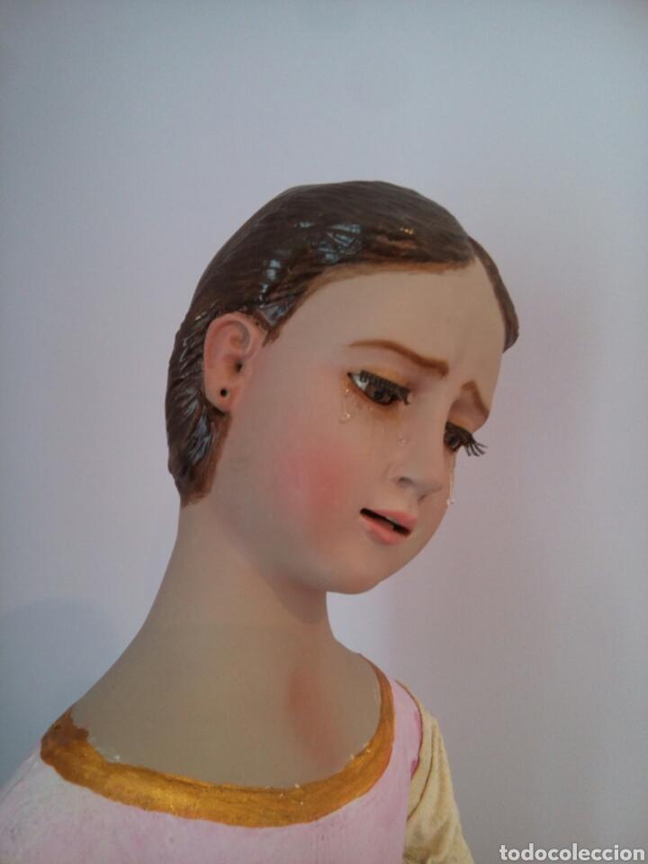 VIRGEN DOLOROSA/ SOLEDAD PARA VESTIR (Arte - Arte Religioso - Escultura)